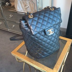 Chanel Lambskin Quilted Small Backpack
